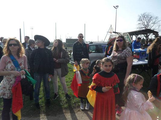 Lavernois au carnaval à Marnay
