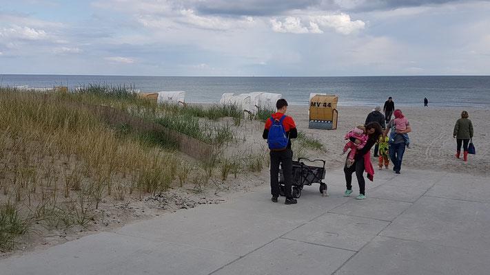 Am Strand von Großenbrode