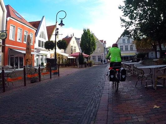 In der Altstadt von Jever