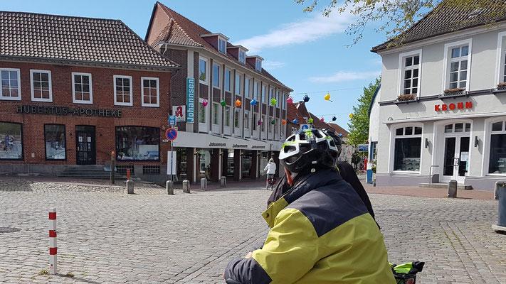 Marktplatz von Oldenburg in Schleswig