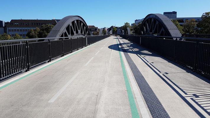 Die Brücke über die Ruhr in Mühlheim ist fertig!!!