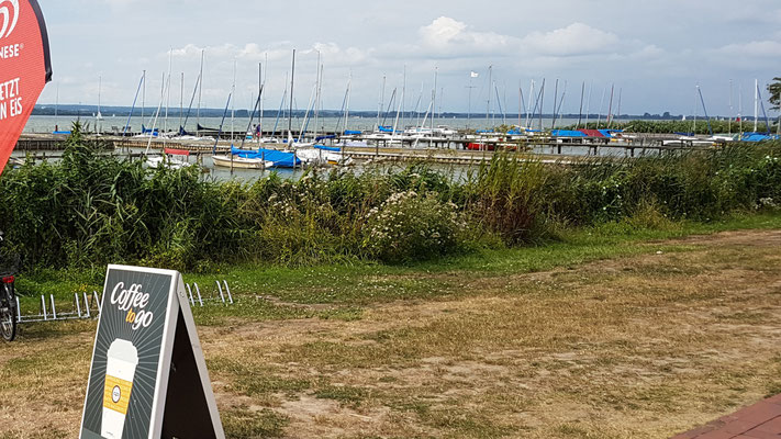 Strandpromenade in Hüde bei Diepholz
