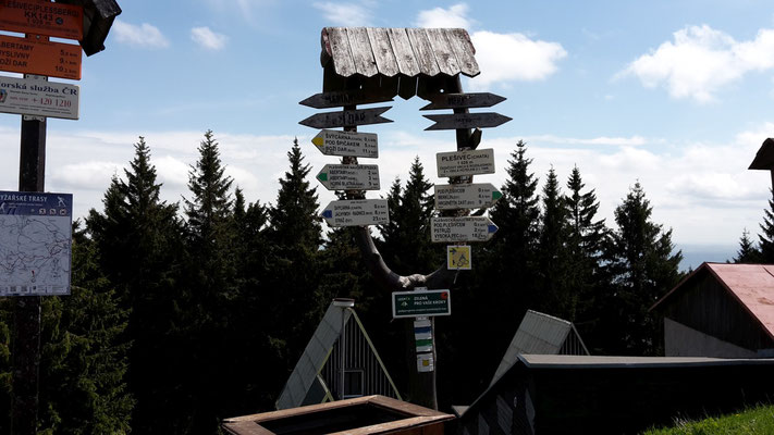 Plešivec 3.Gipfel