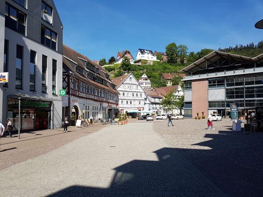 Altstadt von Calw  (Nagoldradweg)