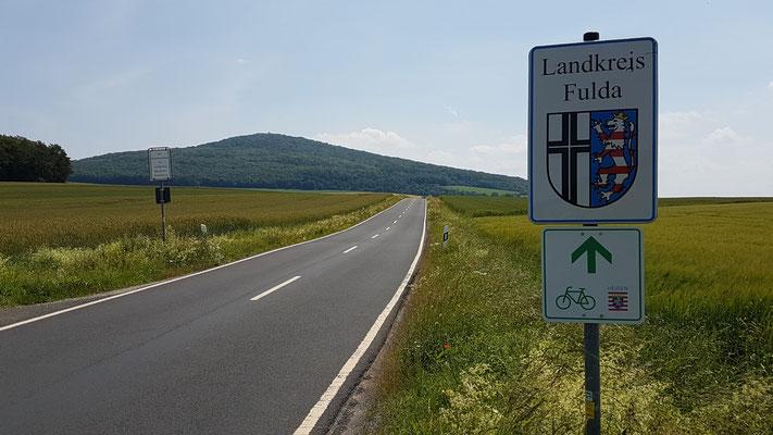An der Grenze bei Eiterfeld