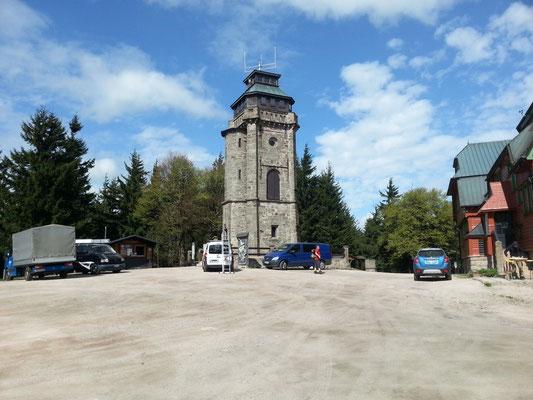 Turm auf dem Auersberg