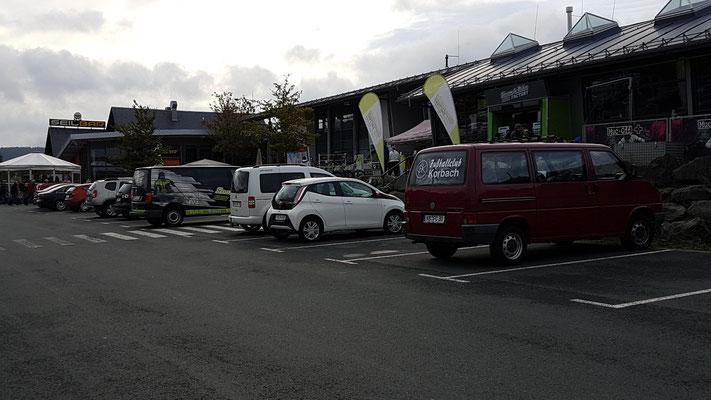 Parkplatz der Ettelsberg-Seilbahn