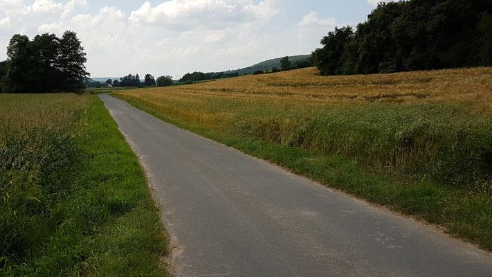 In der Nähe von Spangenberg