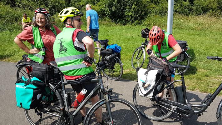 An der Fähre über die Fulda bei Malsfeld