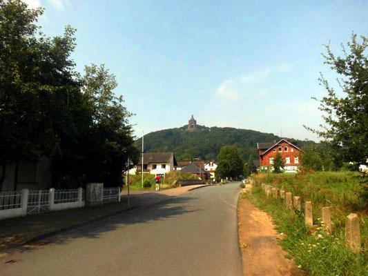 Porta Westfalica - Blick auf  Kaiser-Wilhelm