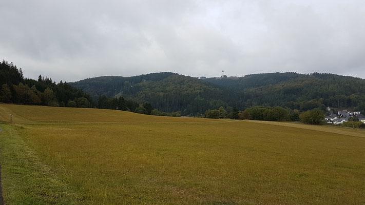 Blick zum Ettelsberg zurück