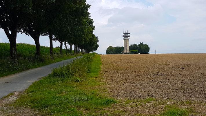 Westerberg (Baumberge) mit dem Longinusturm