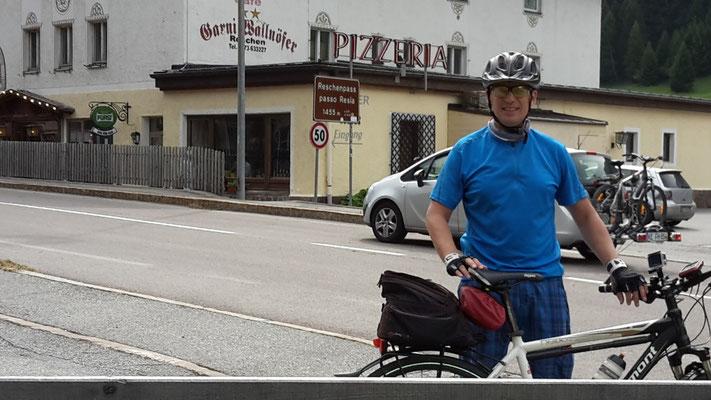 Oben an der Grenze (Österreich-Italien) beim Dreiländerblick