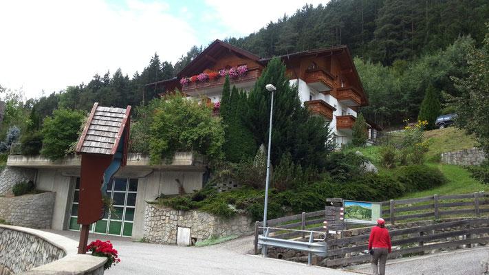 Die Unterkunft in Tils (bei Brixen)