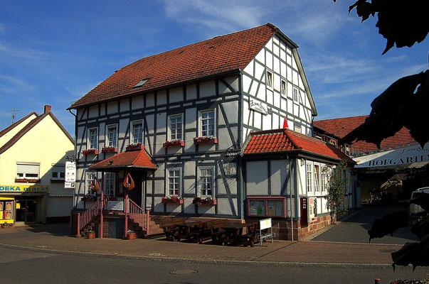 Unsere Unterkunft in Hümme (Zum Stern)