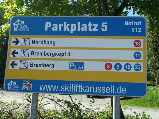 "Am Parkplatz ""Nordhang"""