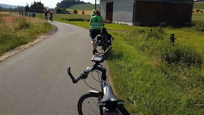 Kurz nach Rotenburg an der Fulda