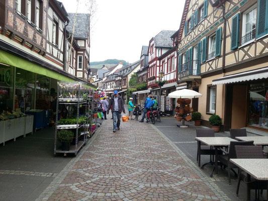 In Ahrweiler, schönes Städtchen