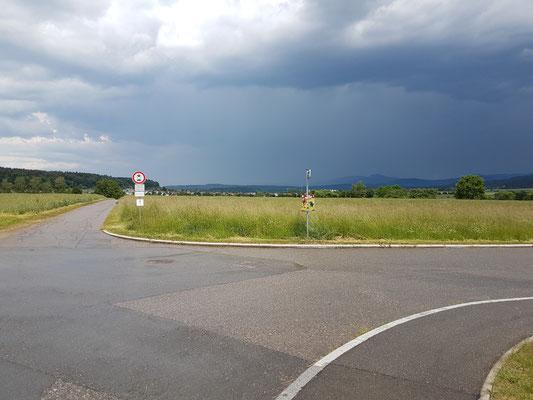 In der Nähe von Deißlingen
