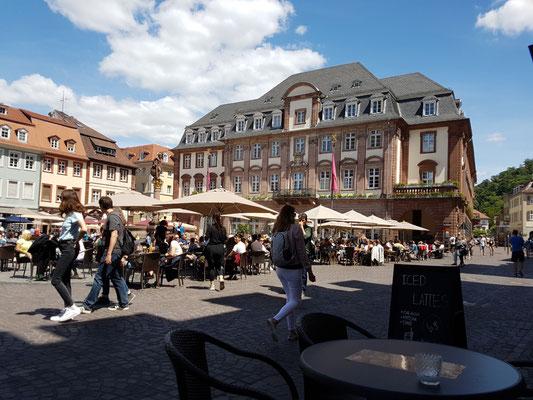 In der Altstadt von Heidelberg