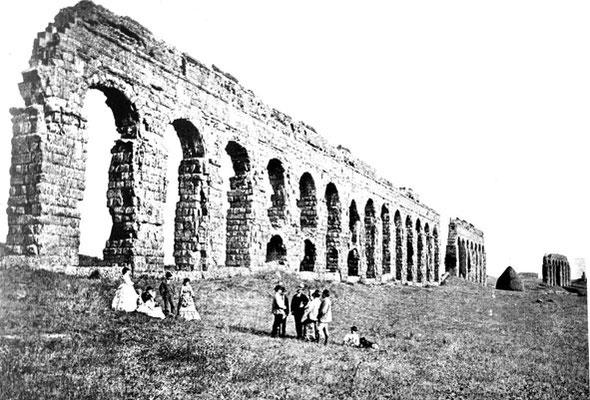 1800 Riproduzione Acquedotto Claudio