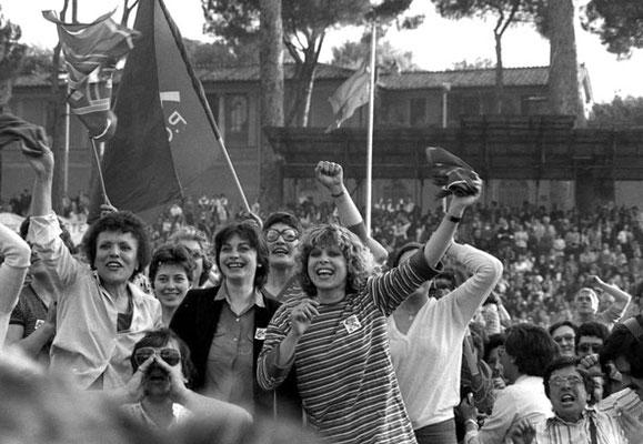 Roma, maggio 1979 - Manifestazione donne Pci