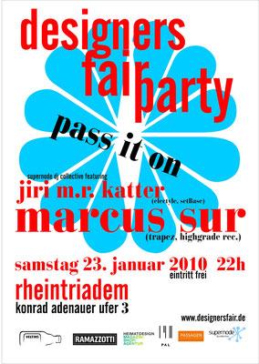 partyplakat, 2013