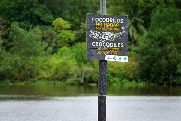 Achtung Krokodile! (auf der Rundreise November/Dezember 2016)