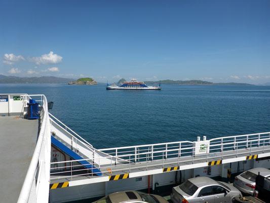 Auf der Überfahrt mit der Fähre nach Puntarenas