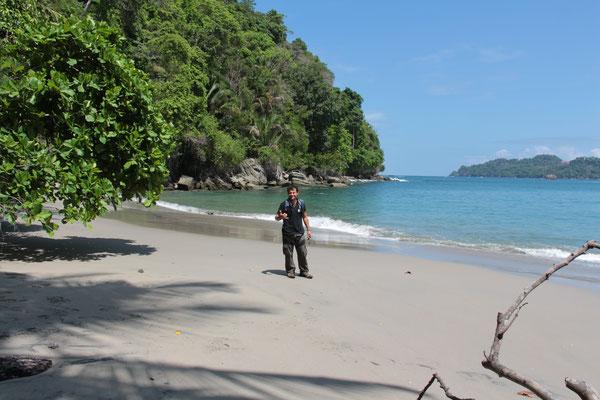 Der Strand vom Nationalpark Manuel Antonio
