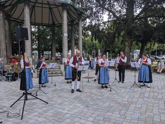 Standkonzert Stadtpark - Klarinetten-Ensemble