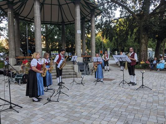 Standkonzert Stadtpark - Saxophon-Ensemble