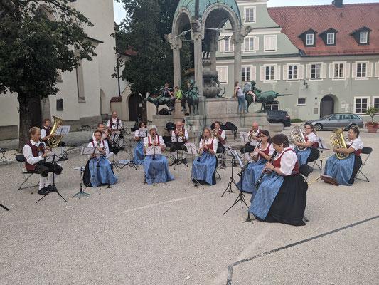 Standkonzert St.-Mang-Platz - Kleine Besetzung