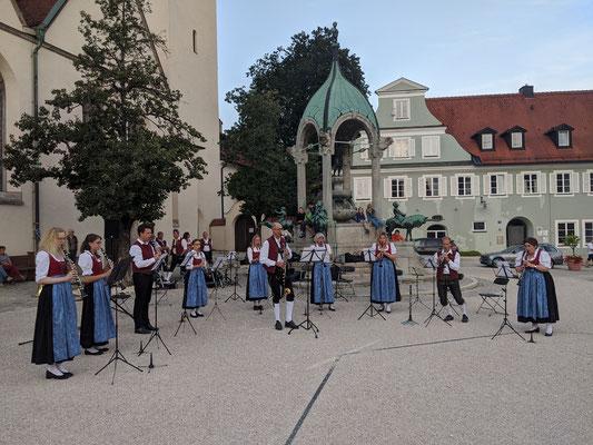 Standkonzert St.-Mang-Platz - Klarinetten-Ensemble