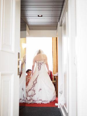 Hochzeit am Schloss Wilhelminenberg in Wien