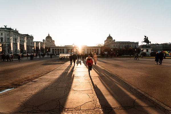 Street Photography Wien - Blaue Stunde