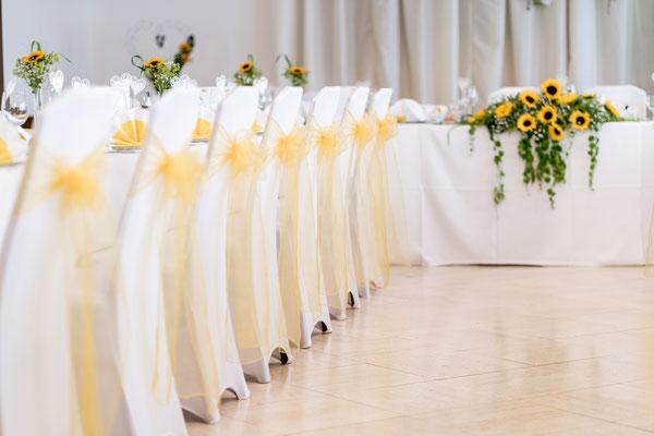 Hochzeitstafel Hotel Stich Manhartsbrunn