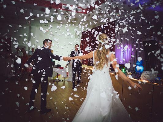 Hochzeittafel Dorfzentrum Prottes