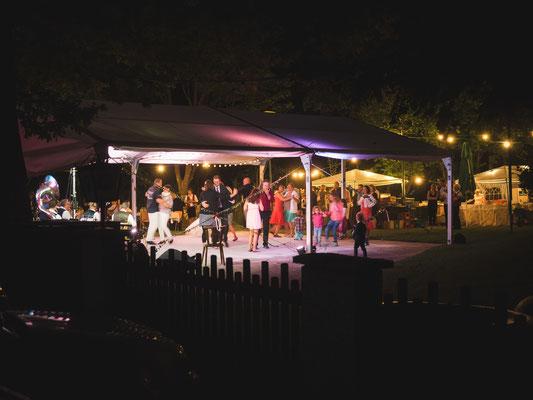 Hochzeitsfeier in Niederösterreich