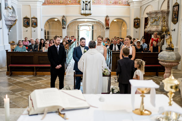 Kirchliche Hochzeit in Wilfersdorf
