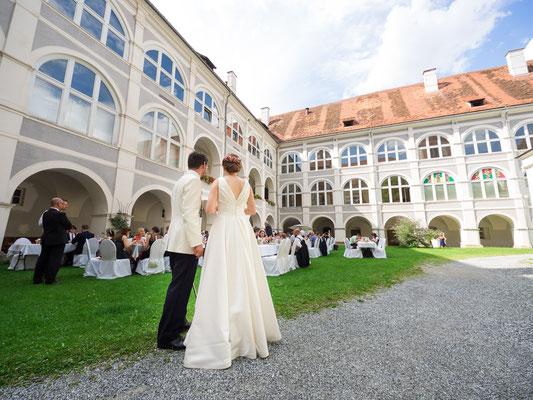 Hochzeit in Stift Pöllau