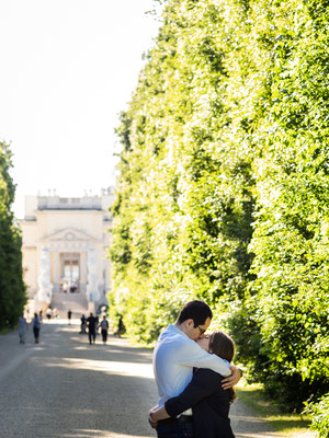 Paar Foto Shooting in Schönbrunn