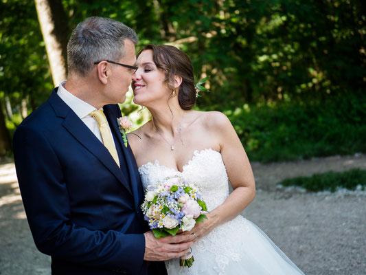 Hochzeit in Wien in der Kirche Maria Grün