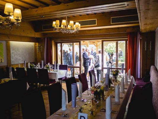 Hochzeitsfeier in Gumpoldskirchen, Hotel Keller