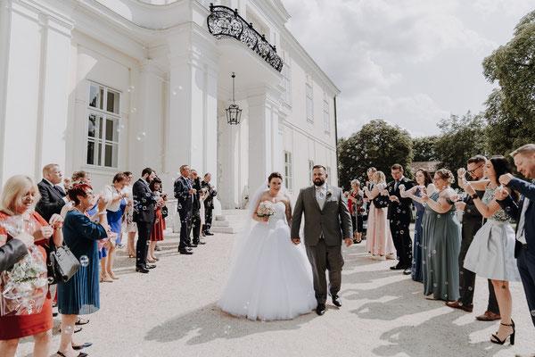 Hochzeit im Schloss Wilfersdorf