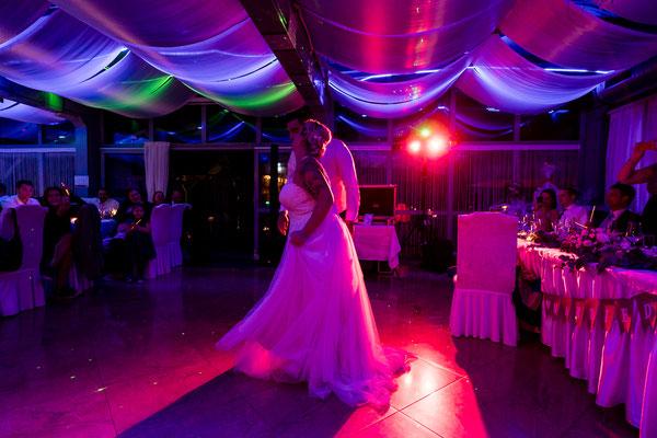Eröffnungstanz,  Hochzeitsgarten Lobau