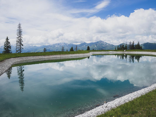 Großarltal Spiegelsee