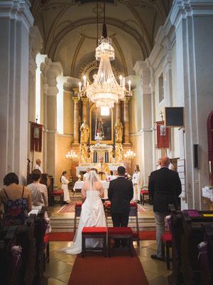 Hochzeitsfoto Kirche