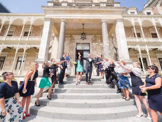 Hochzeit in der Hermesvilla