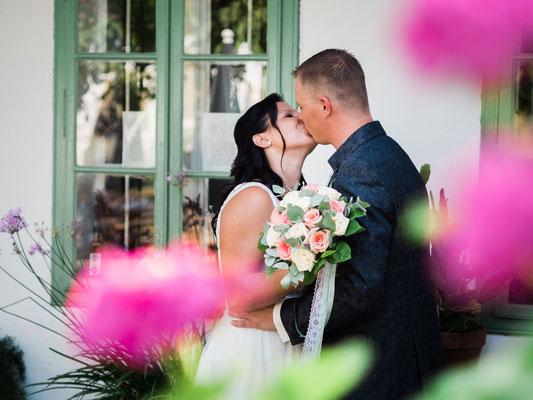 Hochzeit in den Blumengärten Hirschstetten